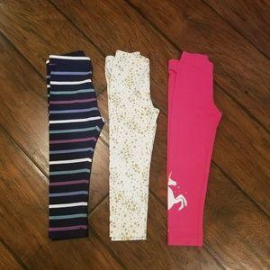 Carter's unicorn leggings bundle